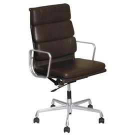 Image of The Charles Eames Thin Pad Chair combines elegance with ergonomy.  We pay top cash prices for Charles Eames chairs in London