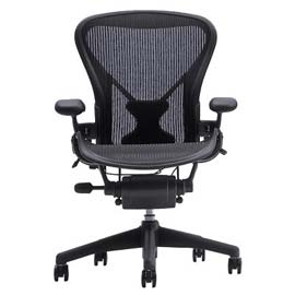 image showing A Herman Miller Chair, style and comfort for your working day