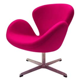 Image of A Swan Chair, style and comfort for your working day