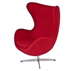 An image of An Egg Chair, style and comfort for your working day goes here.